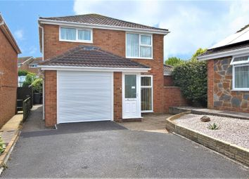 Thumbnail 3 bed detached house for sale in Red Brook Close, Paignton