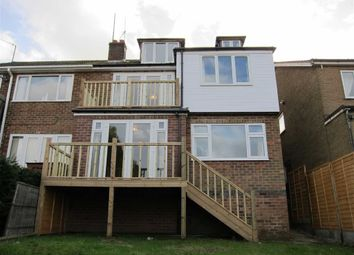Thumbnail 4 bed semi-detached house to rent in Chesterfield Avenue, Gedling, Nottingham
