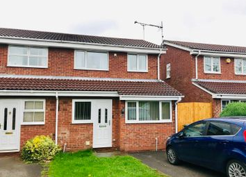 Thumbnail 3 bed semi-detached house for sale in Finchdean Close, Meir Park