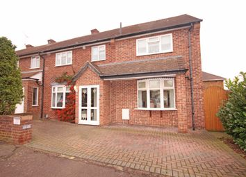 Thumbnail 4 bed end terrace house for sale in Durnell Way, Loughton