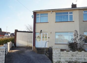 3 bed semi-detached house for sale in The Dell, Bryncethin, Bridgend, Bridgend County. CF32