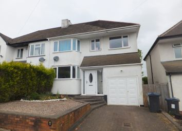 Thumbnail 3 bed semi-detached house for sale in Clarence Gardens, Four Oaks, Sutton Coldfield