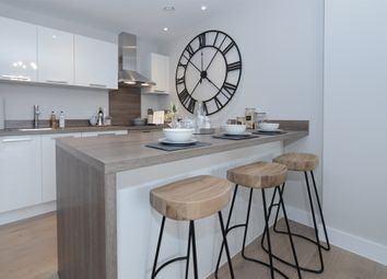 Thumbnail 1 bed flat for sale in Water's Edge, Firepool, Taunton
