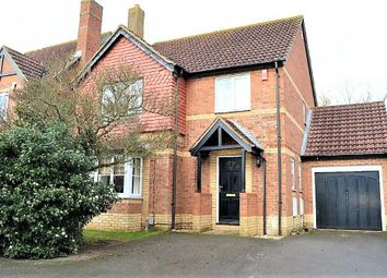 Thumbnail 4 bed detached house for sale in Rackham Drive, Luton