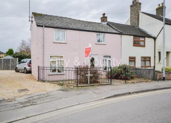 Thumbnail 2 bed semi-detached house for sale in Eyebury Road, Eye, Peterborough