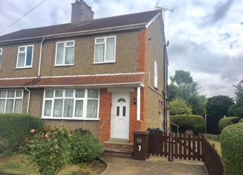 Thumbnail 2 bed semi-detached house for sale in Beverley Crescent, Abington, Northampton