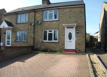 Thumbnail 3 bed semi-detached house to rent in Grosvenor Road, Ashford, Kent