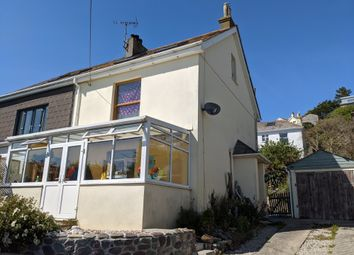 Thumbnail 3 bed semi-detached house for sale in Downderry, Torpoint