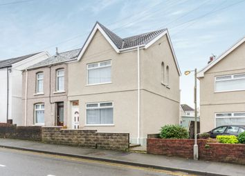 Thumbnail 3 bed semi-detached house for sale in Borough Road, Loughor, Swansea