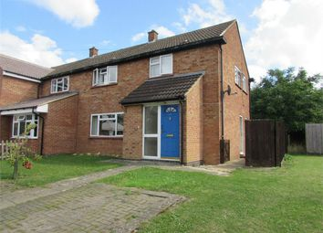 Thumbnail 4 bedroom semi-detached house to rent in Churchill Avenue, Wyton, Huntingdon