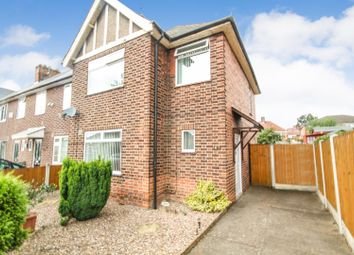 Thumbnail 3 bed end terrace house for sale in Worrall Avenue, Arnold, Nottingham