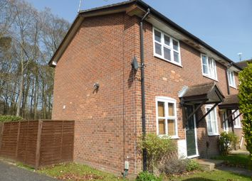 Thumbnail 1 bed end terrace house to rent in Kingfisher Close, Farnborough