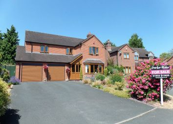 4 bed detached house for sale in Manor Close, Hinstock, Market Drayton TF9