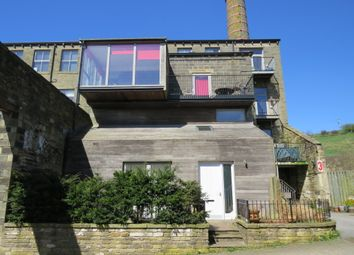 Thumbnail 3 bed town house for sale in Pecket Well Mill, Pecket Well, Hebden Bridge