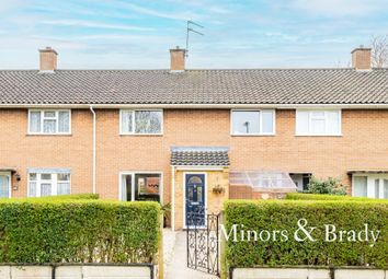 Thumbnail 3 bed terraced house for sale in Sale Road, Sprowston, Norwich