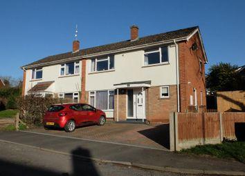 Thumbnail Semi-detached house for sale in 11 Warren Drive, Ledbury, Herefordshire