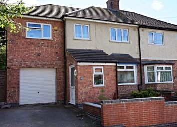 Thumbnail 4 bed semi-detached house for sale in Astill Drive, Leicester