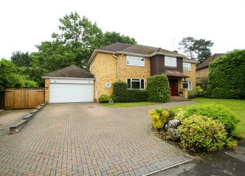 Thumbnail 5 bed detached house for sale in Maultway Crescent, Camberley, Surrey