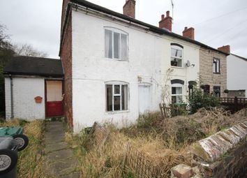 Thumbnail 1 bed end terrace house for sale in Main Street, Newhall, Swadlincote