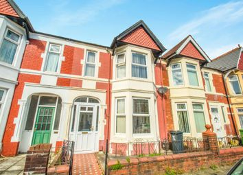 Thumbnail 4 bed terraced house for sale in Summerfield Avenue, Heath, Cardiff
