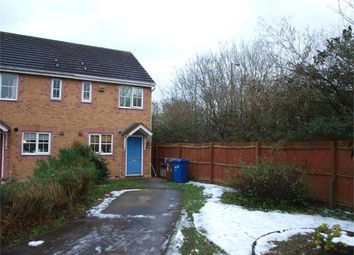 Thumbnail 2 bed semi-detached house to rent in Wetherby Court, Branston, Burton-On-Trent, Staffordshire