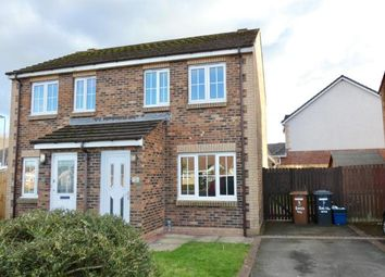 Thumbnail 2 bed semi-detached house for sale in Eagles Way, Moresby Parks, Whitehaven