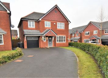 Thumbnail 4 bed detached house for sale in Lark Hill, Astley, Manchester