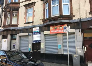 Thumbnail Commercial property to let in West Blackhall Street, Greenock