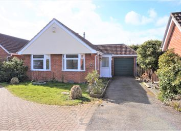 Thumbnail 2 bed detached bungalow for sale in Kestrel Drive, Wisbech