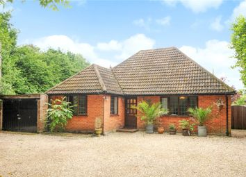 Thumbnail 3 bed detached bungalow for sale in Reading Road, Blackwater, Camberley, Hampshire