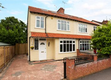 Thumbnail 4 bedroom semi-detached house for sale in College Crescent, Windsor, Berkshire