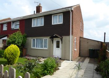 Thumbnail 3 bed semi-detached house for sale in Wellwood Road, Newhall, Swadlincote