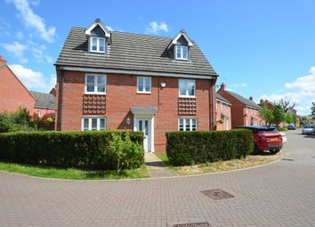 Thumbnail 5 bed detached house for sale in Woodleigh Road, Long Lawford, Rugby