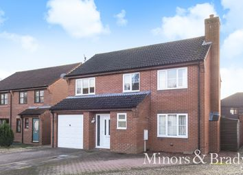 Thumbnail 4 bed detached house for sale in Fern Drive, North Walsham