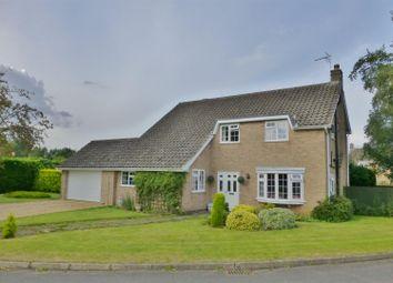 Thumbnail 4 bed detached house for sale in Grange Close, Langham, Oakham