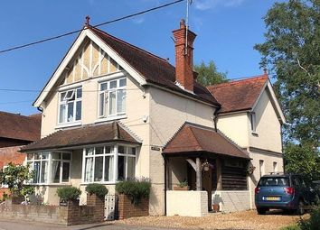 Thumbnail 4 bed link-detached house for sale in The Street, Eversley, Hook