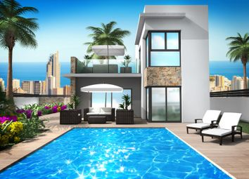Thumbnail 4 bed chalet for sale in Finestrat, Costa Blanca North, Costa Blanca, Valencia, Spain