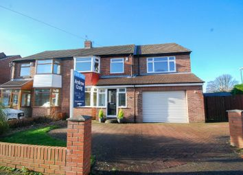 Thumbnail 5 bed semi-detached house for sale in Woodlands Drive, Cleadon, Sunderland