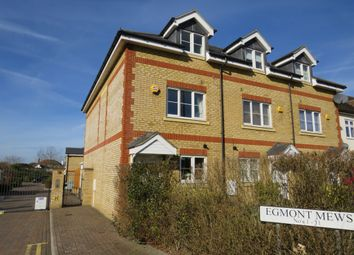 Thumbnail 4 bed town house for sale in Silvergate, Ruxley Lane, West Ewell, Epsom