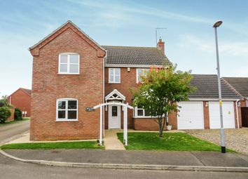 Thumbnail 4 bed detached house for sale in Richard Busby Way, Lutton, Spalding