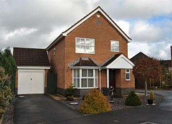 Thumbnail 3 bed detached house for sale in Snowshill Close, Swindon