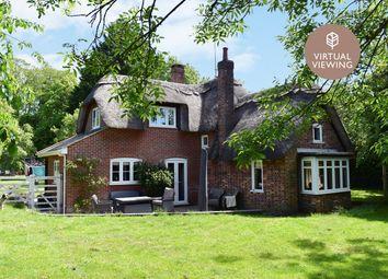 Thumbnail 4 bed detached house for sale in Salisbury Road, Blashford, Ringwood