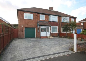 Thumbnail 4 bed semi-detached house for sale in Countisbury Road, Stockton-On-Tees