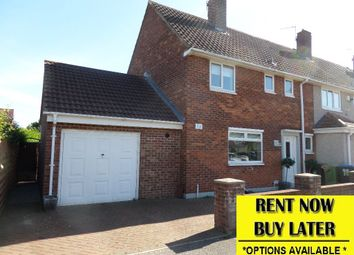 Thumbnail 3 bed end terrace house to rent in Bewick Crescent, Newton Aycliffe