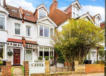 Thumbnail 4 bed terraced house for sale in Manor Road, Merton Park