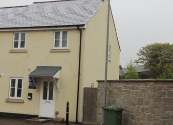 Thumbnail 3 bed end terrace house to rent in Madison Close, Hayle, Cornwall