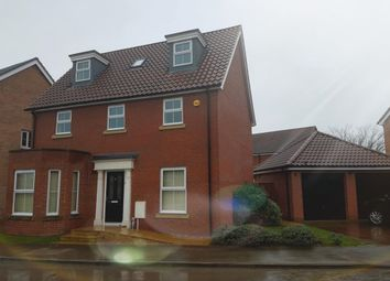 Thumbnail 5 bed detached house to rent in Barleycorn Way, Beck Row