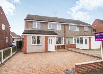 Thumbnail 3 bed semi-detached house for sale in Fontwell Crescent, Lincoln