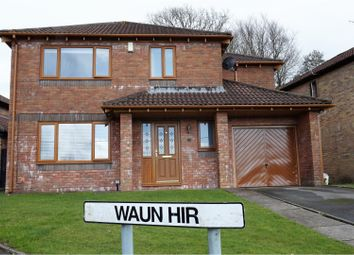 Thumbnail 4 bed detached house for sale in Waun Hir, Pontypridd