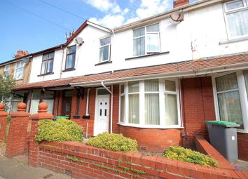 Thumbnail 3 bed terraced house for sale in Silverwood Avenue, Blackpool